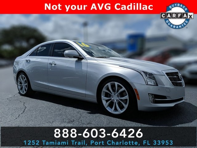 Pre-Owned 2016 Cadillac ATS 2.0L Turbo Premium
