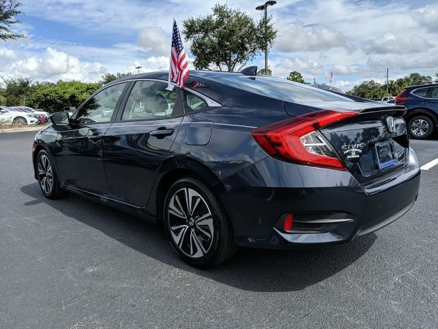 Pre-Owned 2018 Honda Civic EX-L
