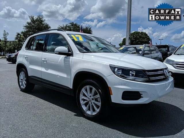 Certified Pre-Owned 2017 Volkswagen Tiguan Limited 2.0T