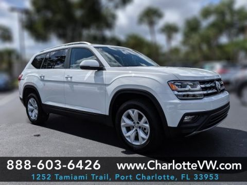 New 2019 Volkswagen Atlas 2.0T SE
